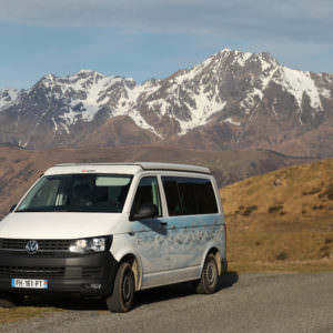 Tour des Pyrénées en van